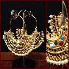 Kundan earrings on order n order estimated time 4 weeks More details please Inbox Us!! contact :Aiiyzz@hotmail.com We also offer worldwide shipping Separate shipping charges are applied for international deliveries.