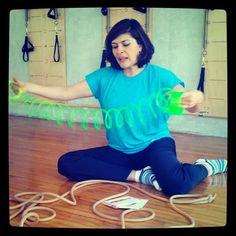 """@inspirahpilates's photo: """"El movimiento excéntrico de los músculos #InspirahPilates #KiHara"""""""