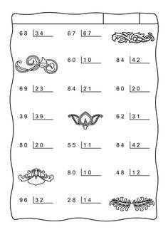 48 besten bölme Bilder auf Pinterest | Mathematische multiplikation ...