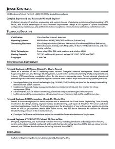 Network Engineer Resume Beautician Resume Example Httpresumecompanion  Resume
