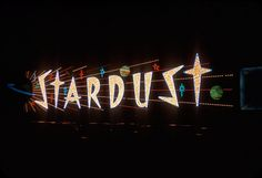 Stardust Casino Sign — 1958 | by ElectroSpark