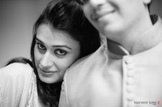 Black & White couple shot
