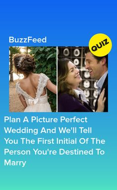 Plan A Picture Perfect Wedding And We'll Tell You The First Initial Of The Person You're Destined To Marry Quizzes About Boys, Fun Quizzes To Take, Buzzfeed Personality Quiz, Personality Quizzes, Wedding Dress Quiz, Wedding Dressses, Evil Queen Quotes, Disney Prom Dresses, Best Buzzfeed Quizzes