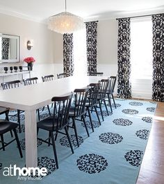 """""""I think every space should have a touch of black,"""" says designer Karen Bow. """"It really just grounds it."""""""