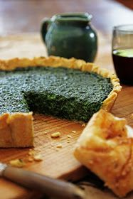 Spinach, Ricotta and Parmesan Tart | From The Kitchen