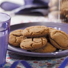 Big Soft Ginger Cookies Recipe- Recipes  These nicely spiced soft cookies are perfect for folks who like the flavor of ginger but don't care for crunchy gingersnaps. —Barbara Gray, Boise, Idaho