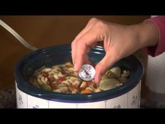 How to Use a Food Thermometer - YouTube