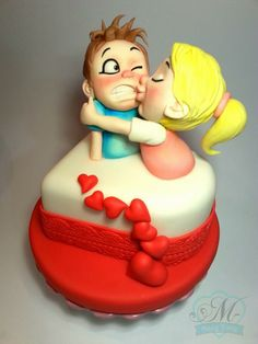 Valentine's Day by Mary Torte - For all your cake decorating supplies, please visit craftcompany.co.uk