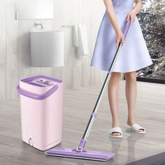 Reliable Yybu Double Sided Flat Mop Smart Self-cleaning Mop Squeez House Floor Cleaner Mop Floor Cleaning Broom House Cleaning Tools Factories And Mines Back To Search Resultshome & Garden Household Cleaning