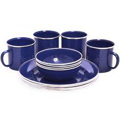 Stoviglie con smalto blu Blue Dinnerware, Tableware, Dinnerware, Tablewares, Dishes, Place Settings