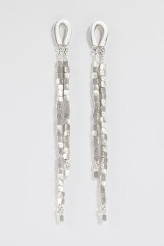 Sarah Pulvertaft, Silver tassle earrings