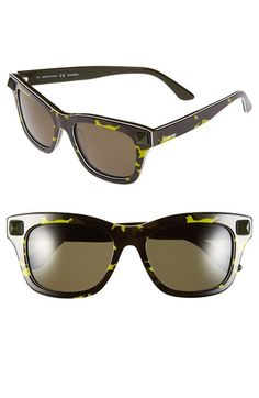 Valentino 'Rockstud' 53mm Retro Sunglasses available at #Nordstrom - kind of love these