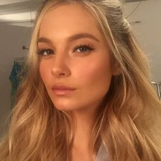 Beautiful, radiant makeup