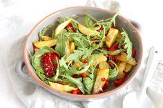 Aardappelsalade met paprika