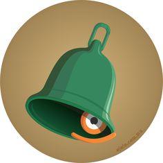 'no preguntes por quién doblan las campanas...':      °mirada bad.ojo°, sí como badajo.  #lamiradadelasemana no 1