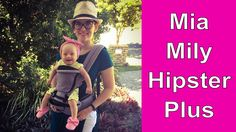 65d40411f4c MIA MILY HIPSTER PLUS BABY CARRIER UNBOXING - YouTube