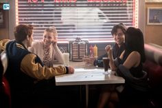 The CW confirmed 'Riverdale' has been renewed for season two. The series stars KJ Apa, Lili Reinhart, Camila Mendes, and Cole Sprouse. Betty Cooper, Alice Cooper, Riverdale Season 1, Riverdale 2017, Riverdale Book, Riverdale Quiz, Riverdale Series, Riverdale Poster, Riverdale Netflix