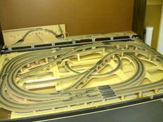 A lot of track work on this 4x8 HO layout plan