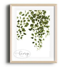 Lola & George - Thrive Print Printed on quality silk card. Available in or size. Unframed - any frames and/or additional items shown in product photos not included. A3 Size, Point Of Sale, Plant Decor, A5, Frames, Silk, Printed, Cards, Photos