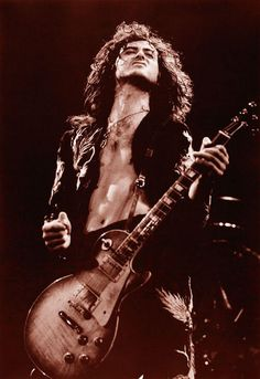Jimmy Page ( The Yardbirds , Led Zeppelin ) , guitar player Led Zeppelin, Rock Roll, Great Bands, Cool Bands, Hard Rock, Heavy Metal, Rock Poster, John Bonham, Jimmy Page