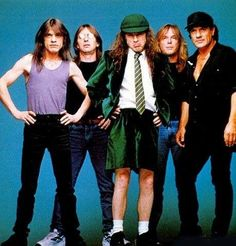 Ac/Dc [As subtle as a Mack truck. Love them.-Trend]