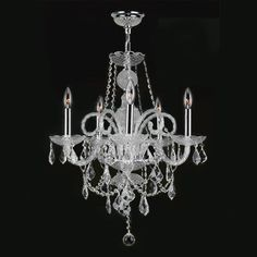 Found it at Wayfair - Provence 5 Light Crystal Chandelier