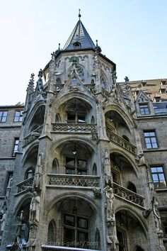 Pictures of Germany - Munich - the Gothic Town hall stairway --> See more at http://www.EverythingAboutGermany.com