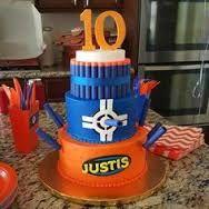 Image result for nerf birthday cakes