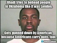 Barbaric jihadists murder rampage stopped cold by gun owner...
