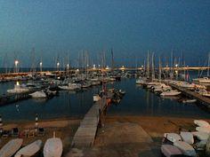 #Civitanova Marche: il #porto al #tramonto