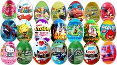 Kinder Super Surprise Eggs Smurfs Hello Kitty Star Wars Cars Spongebob D... #Surpriseeggs #Toys #Disney #DisneyPixar #PixarCars #KinderSurprise #Surprise #Toy #MyLittlePony #HelloKitty #PeppaPig #MickeyMouse #Baby #Pixar #MinnieMouse #Cartoons #YouTube #Hello #spiderman #starwars #dora #Маша
