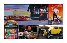 American Graffiti Lives !As We Celebrate #AmericanGraffiti Week in it's hometown (and George Lucas') of Modesto, CA we look back at past events  as American Graffiti Lives (See current info elsewhere with more to come !  #oldies