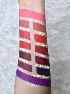 L.A. Girl Matte Flat Finish Pigment Gloss | Review & Swatches | Lipstick | Makeup | Beauty