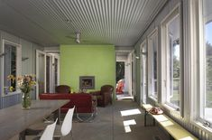 Metal ceiling ideas family room industrial with metal siding great room metal siding