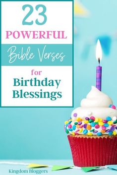 Instead of spending hours reading hallmark cards, why not send them notes or cards with Bible verses for birthday blessings?