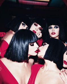 Burlesque girls at the Crazy Horse Paris photographed by Ellen von Unwerth