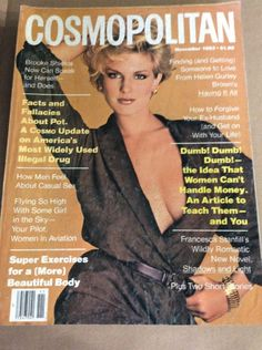 NOV 1983 COSMOPOLITAN vintage womens fashion magazine