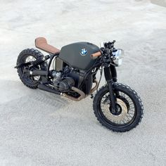 BMW R80 Cafe Scrambler by The Bike Maker of Switzerland.