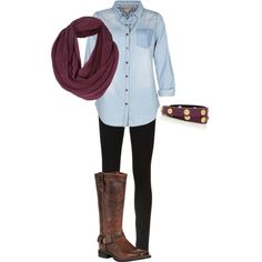 """""""Fall wear"""" by bball42-07 on Polyvore"""