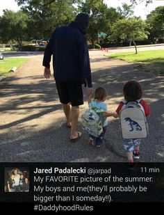 Jared with his boys!