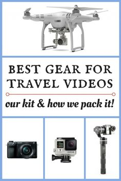 Best Gear For Travel Videos - Our Kit & How We Pack It