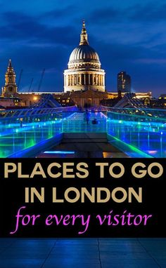 Places to go in London for every visitor. The best sights and attractions in London including the Tower of London Buckingham Palace galleries museums shopping London's top restaurants and the best places to stay. Europe Destinations, Sprachreise England, London England, Oh The Places You'll Go, Places To Travel, Tourist Places, London Calling, Such Und Find, London Attractions
