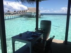 A table with a view