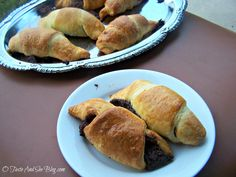Creamy Chocolate filling wrapped in a butter, flaky crescent roll....what's not to love?