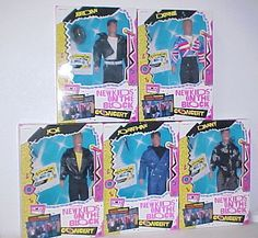 New Kids on the Block dolls! Jady had the Jordan doll when I was six. He had a long braided rattail, no kidding.