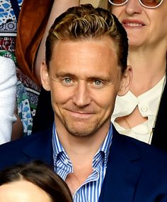 Hello. My name is Tom Hiddleston, actor, Loki of Asgard, and burdened with glorious purpose. I'm just joking. I'm 34 and from UK. Can't wait to meet some new people.