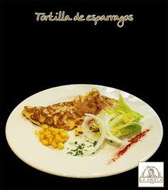 TORTILLA CON ESPARRAGOS