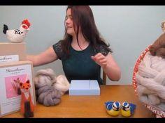 An Introduction to Needle Felting - Tools and Materials - Needle Felting Tutorial Wool Dolls, Felt Dolls, Needle Felted Animals, Felt Animals, Needle Felting Tutorials, Felt Mouse, Wet Felting, Soft Sculpture, Felt Art