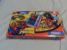 Seim's Awareness N Thrift - Spiderman 3 In 1 Game Set, $10.00 (http://www.seimsawarenessnthrift.com/spiderman-3-in-1-game-set/)