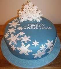red christmas cake ideas - Google Search
